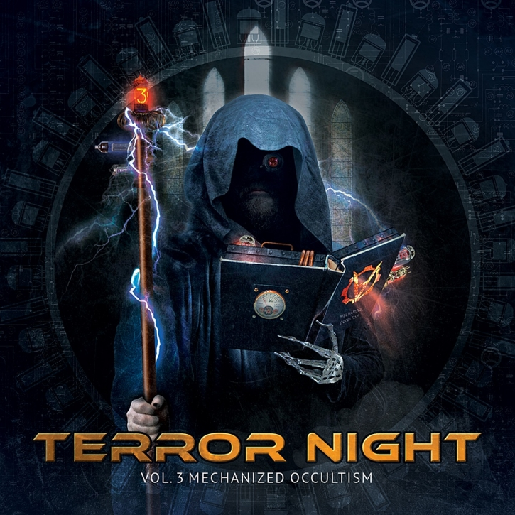 Terror Night Vol.3 Mechanized Occultism 2CD LTD.300 Cygnosic SIVA SIX