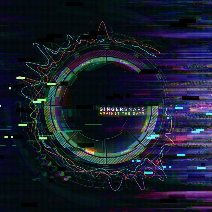 GINGER SNAP5 Against The Days CD Digipack 2017