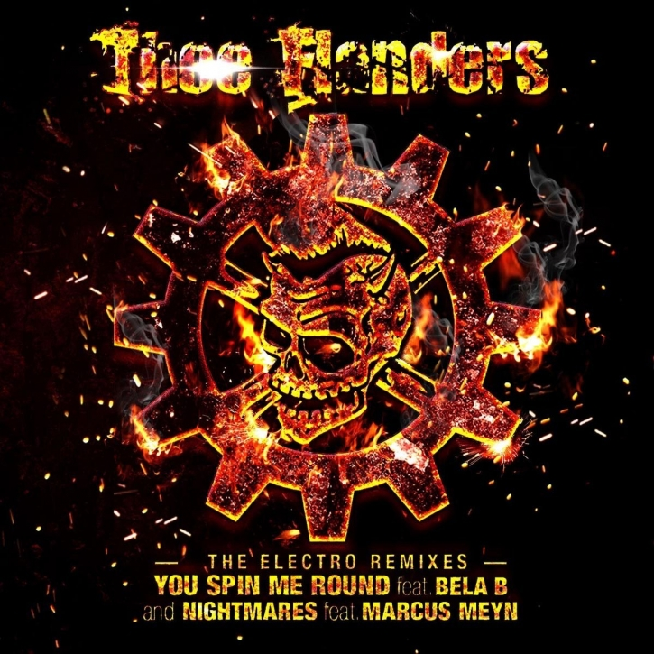 THEE FLANDERS The Electro Remixes CD Digipack 2017