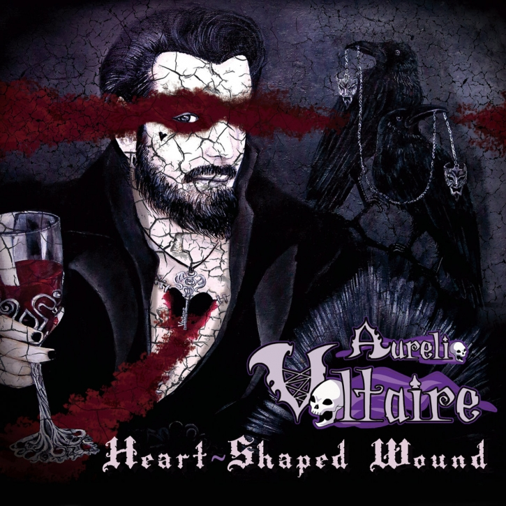 AURELIO VOLTAIRE Heart-shaped Wound CD Digipack 2017