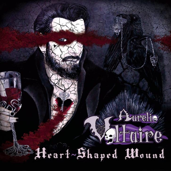 AURELIO VOLTAIRE Heart-shaped Wound CD Digipack 2017