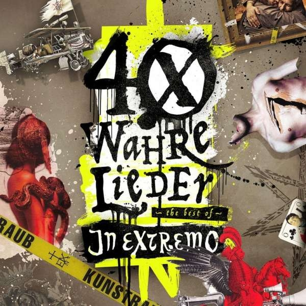 IN EXTREMO 40 wahre Lieder: The Best Of 2CD 2017