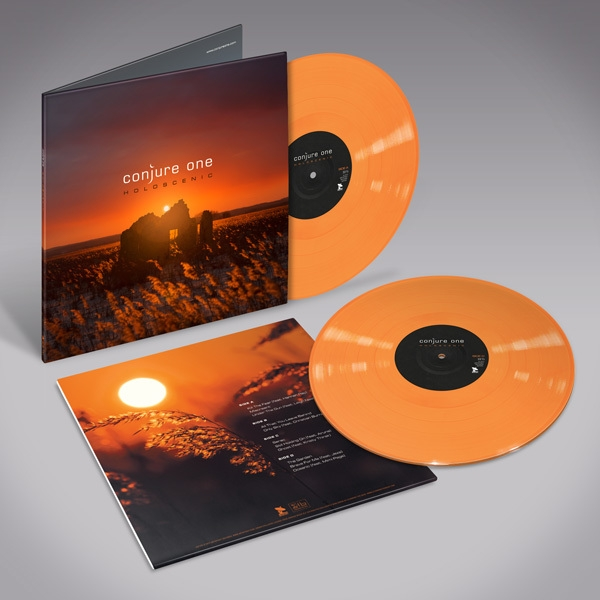 CONJURE ONE Holoscenic LIMITED 2LP ORANGE VINYL 2017