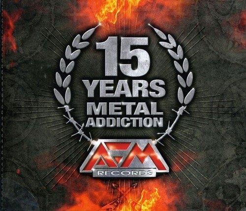 15 YEARS - METAL ADDICTION 3CD 2011 Eisbrecher STAHLMANN Orden Ogan