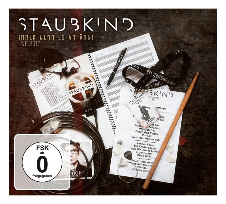 STAUBKIND Immer Wenn Es Anfängt Deluxe 2CD+DVD Digipack 2017