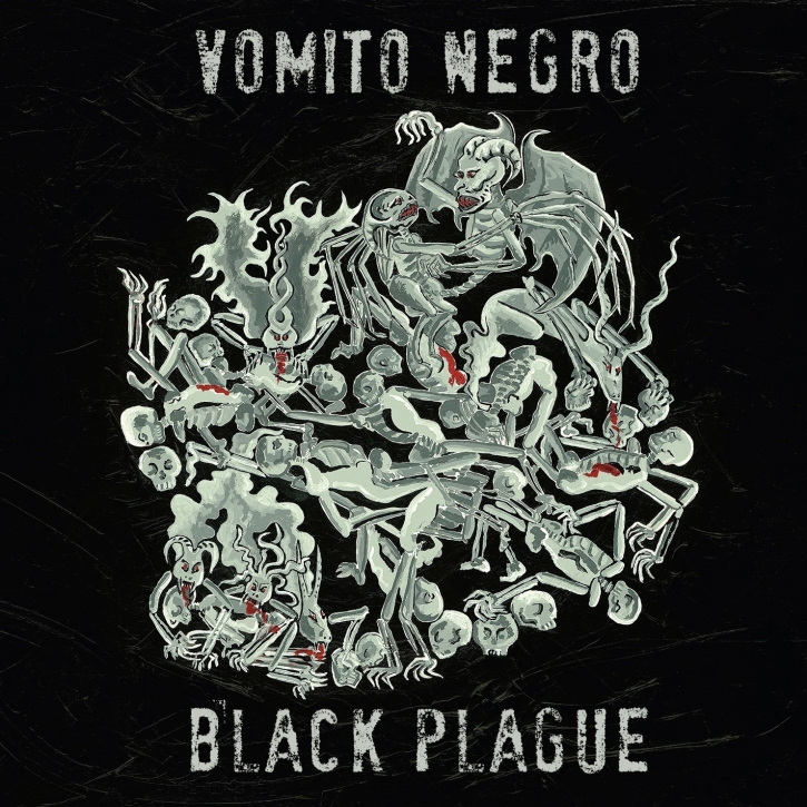 VOMITO NEGRO Black Plague LIMITED CD Digipack 2017
