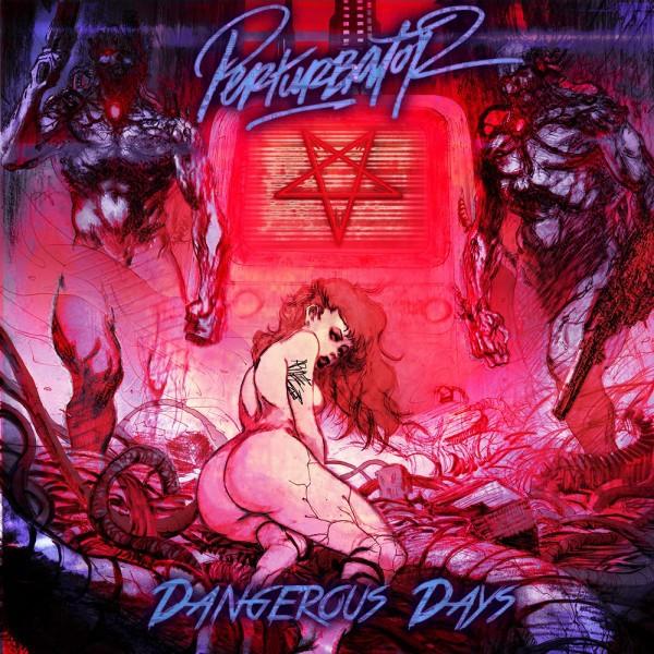 PERTURBATOR Dangerous Days LIMITED CD Digipack 2014
