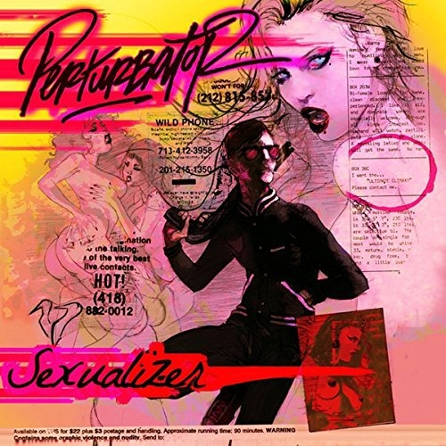 PERTURBATOR Sexualizer LIMITED CD Digipack 2015