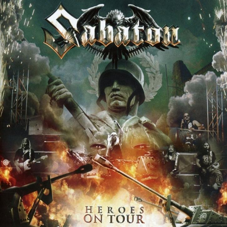 SABATON Heroes On Tour CD 2016
