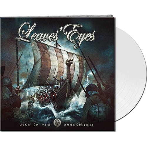 LEAVES EYES Sign Of The Dragonhead LIMITED LP GATEFOLD WHITE VINYL 2018 (VÖ 12.01)
