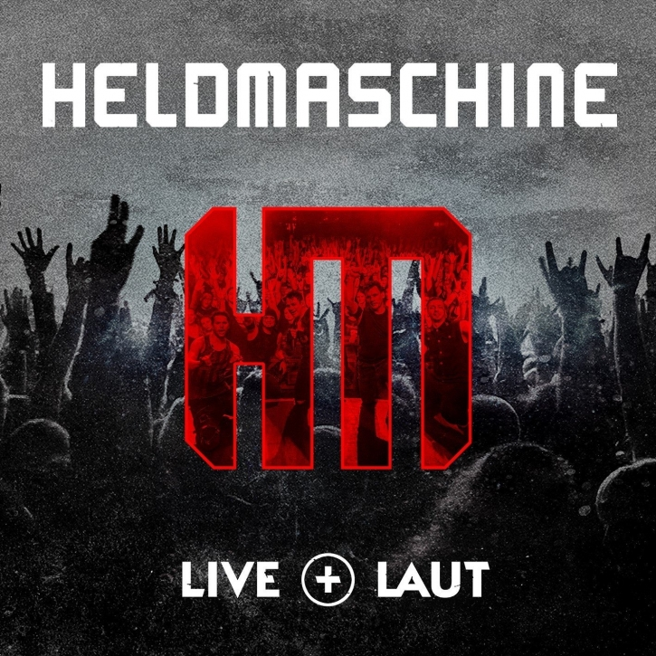 HELDMASCHINE Live + Laut 2CD Digipack 2018
