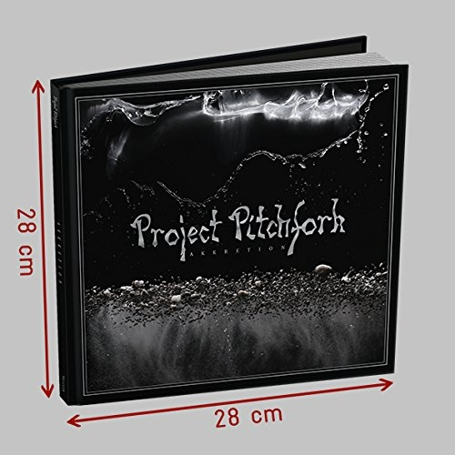 PROJECT PITCHFORK Akkretion 2CD+BUCH EDITION 2018 LTD.2000