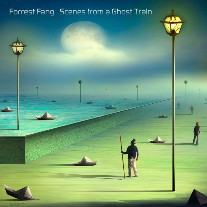 FORREST FANG Scenes from a Ghost Train CD Digipack 2018