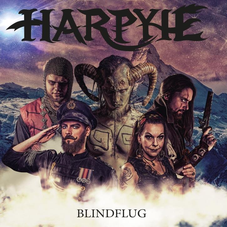 HARPYIE Blindflug (Re-Recorded) 2CD Digipack 2018