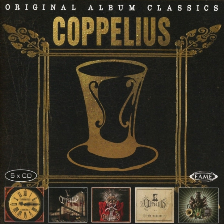 COPPELIUS Original Album Series 5CD BOX 2017