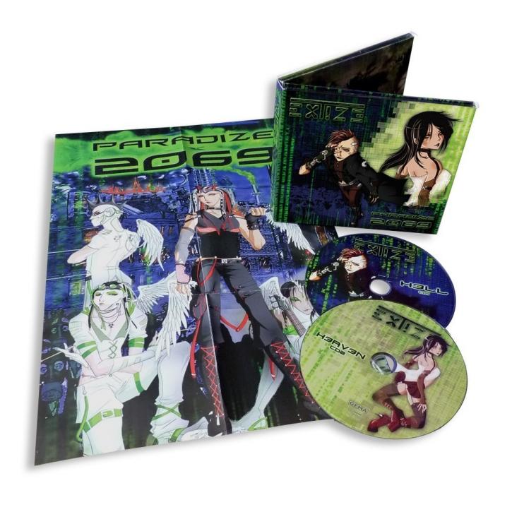 Pro Bestellung kann nur ein Gratisartikel eingelöst werden! EXTIZE Paradize 2069 2CD Digipack 2011 LTD.999