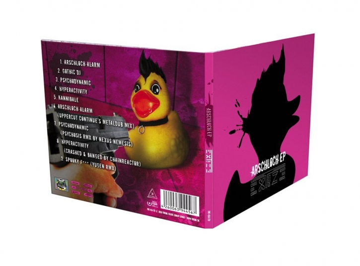 EXTIZE Arschloch EP CD Digipack 2012