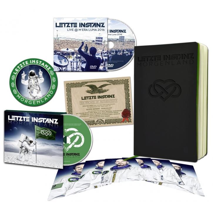 LETZTE INSTANZ Morgenland CD+DVD BOXSET 2018 LTD.1000 (VÖ 16.02)
