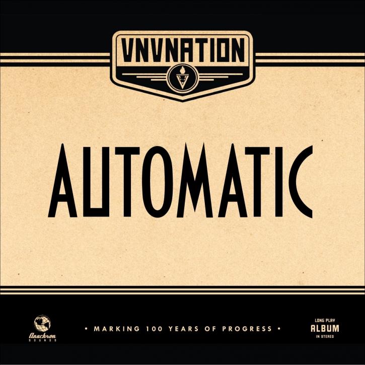VNV NATION Automatic (Regular Edition) 2LP BLACK VINYL 2018