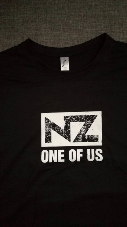Only one free item can be redeemed per order! NZ One Of Us GIRLIE-SHIRT