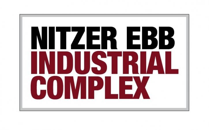 NITZER EBB Industrial Complex 2x Aufkleber