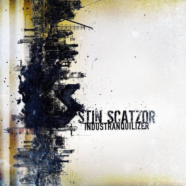 STIN SCATZOR Industranquilizer CD Digipack 2018 LTD.200
