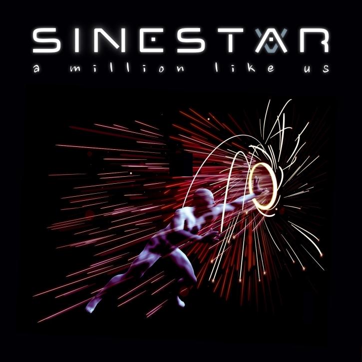 SINESTAR A Million Like Us (Limited Album Edition) CD 2018