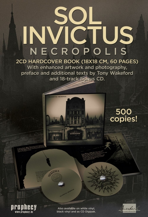 SOL INVICTUS Necropolis 2CD+BUCH 2018 LTD.500