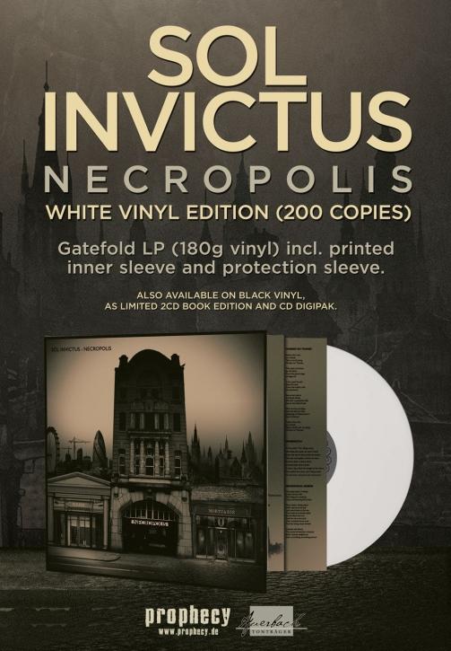 SOL INVICTUS Necropolis LP WHITE VINYL 2018 LTD.200