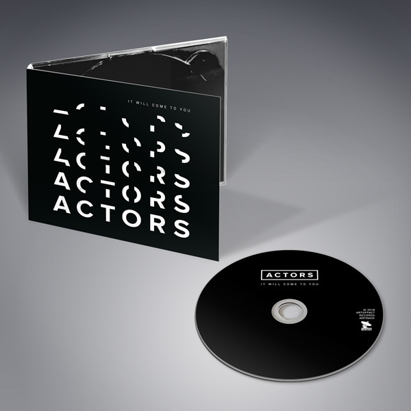 ACTORS It will come to you CD Digipack 2018