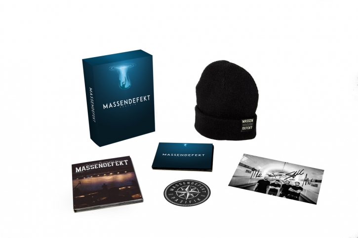 MASSENDEFEKT Pazifik LIMITED CD+DVD BOXSET 2018