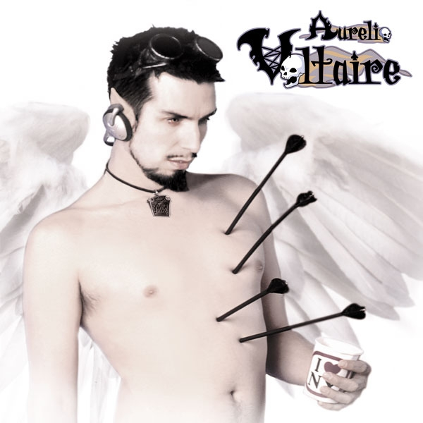 AURELIO VOLTAIRE Almost Human [re-release] CD Digipack 2018