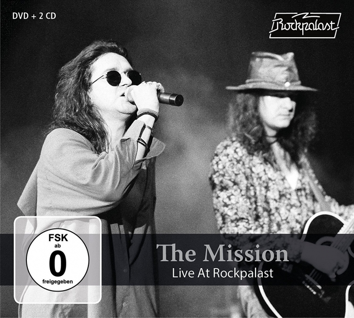 THE MISSION Live at Rockpalast 2CD+DVD Digipack 2018