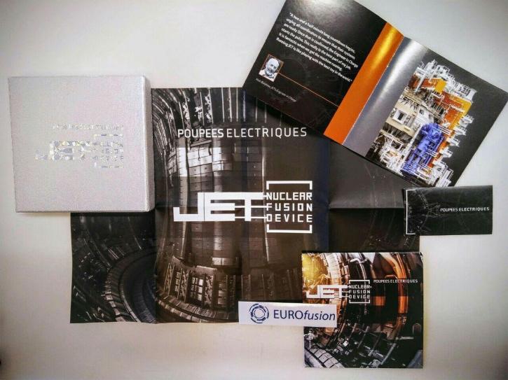 POUPEES ELECTRIQUES JET-Nuclear Fusion Device CD BOX 2018 LTD.500