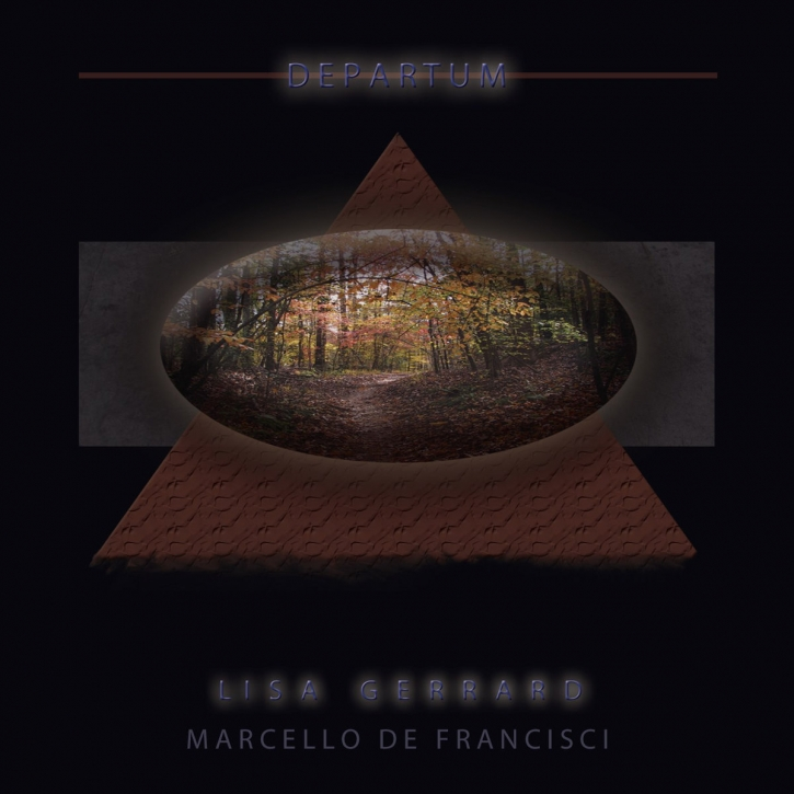 LISA GERRARD & MARCELLO DE FRANCISCI Departum CD Digipack 2018