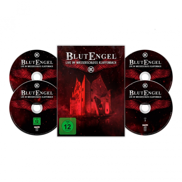 BLUTENGEL Live Im Wasserschloss Klaffenbach LIMITED 2CD+DVD+BLU-RAY 2018 (VÖ 27.04)