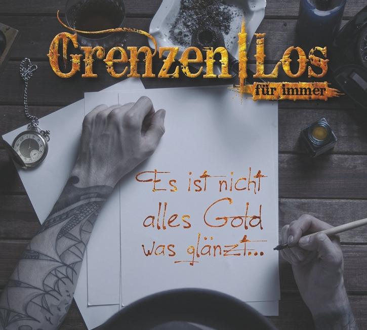 GRENZENLOS Es ist nicht alles Gold was glänzt… (Re-Release) CD Digipack 2018