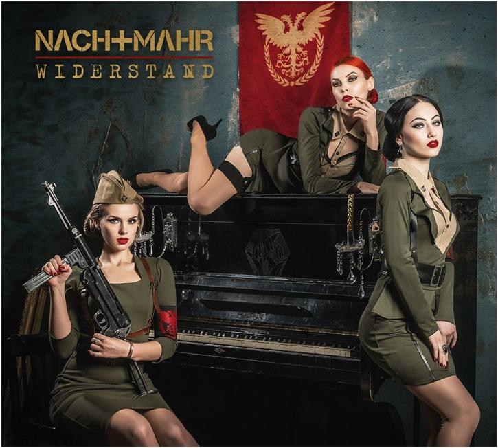 NACHTMAHR Widerstand CD Digipack 2018 LTD.999