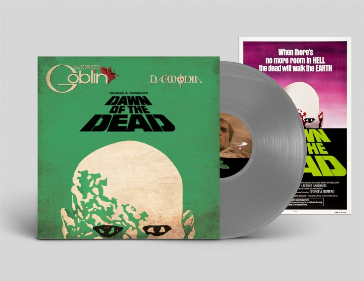 Claudio Simonetti's GOBLIN Dawn of the Dead LIMITED LP GREY VINYL 2018 (VÖ 08.06)