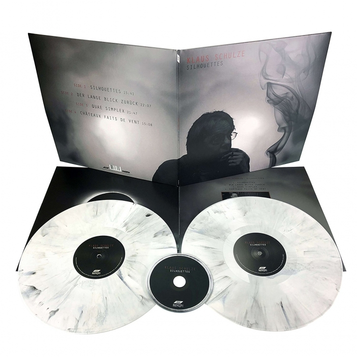 KLAUS SCHULZE Silhouettes LIMITED 2LP VINYL+CD 2018 (VÖ 25.05)