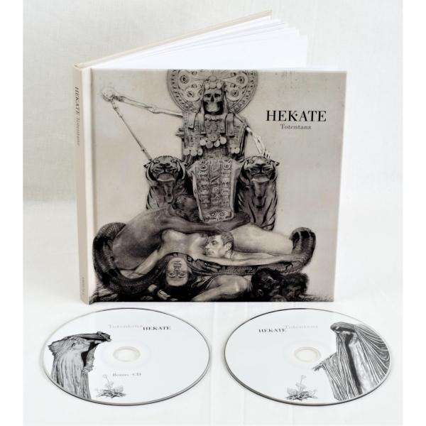 HEKATE Totentanz 2CD+BUCH 2018 LTD.500