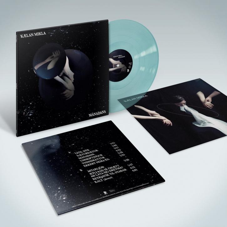KAELAN MIKLA Manadans LP BLUE VINYL 2018 LTD.250