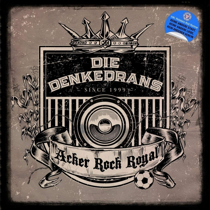 DIE DENKEDRANS Acker Rock Royal CD Digipack 2018