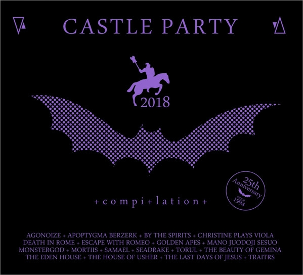 CASTLE PARTY 2018 LIMITED CD Digipack Agonoize APOPTYGMA BERZERK