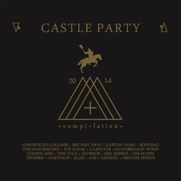 CASTLE PARTY 2014 LIMITED CD She Past Away THE KLINIK The 69 Eyes GRENDEL