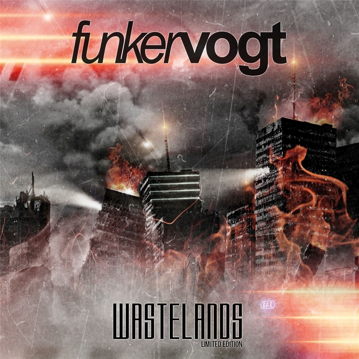 FUNKER VOGT Wastelands LIMITED CD Digipack 2018 + Bonustracks