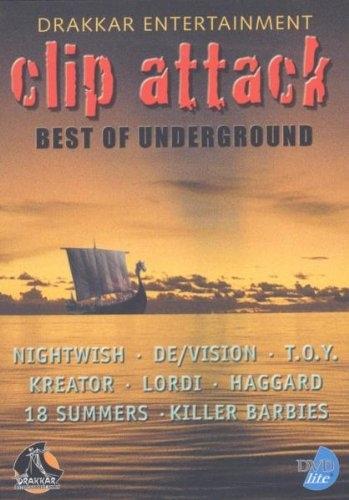 DRAKKAR CLIP ATTACK DVD Nightwish DE/VISION 18 Summers