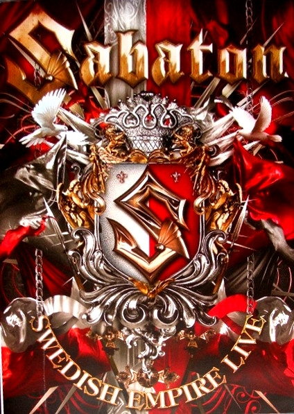 SABATON Swedish Empire Live (Poland) DVD 2013
