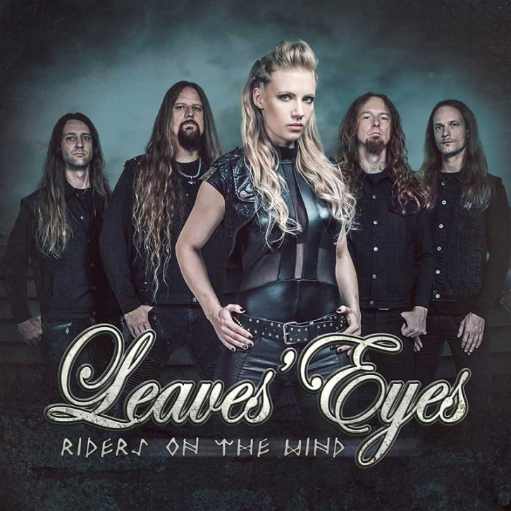 LEAVES EYES Riders On The Wind (3-TRACK SINGLE) LIMITED MCD 2018