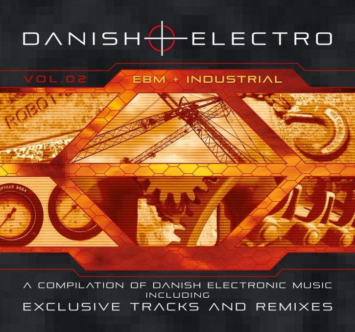 Danish Electro Volume 2 CD Digipack 2018 LTD.300 Negant LEAETHER STRIP